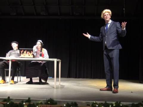 Geert Wilders bezoekt Nieuwjaarsreceptie op Marken