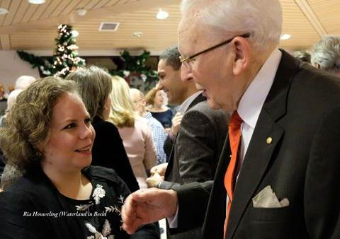 Drukte van belang bij nieuwjaarsreceptie gemeente Waterland