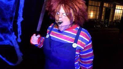 Halloween optocht weer spectaculair, aaarrrghhhh!