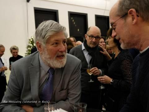 Jan Peter Valk van Fysiotherapie Ooster Ee winnaar Waterlandse Ondernemersprijs 2018