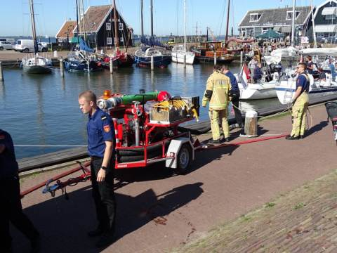 Brandweer Marken organiseert 48e Brandweerdag