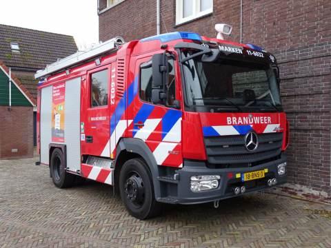 Nieuw brandweervoertuig voor Marken