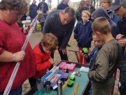 Jackie de Kler wint Cees Gentenaar viswedstrijd