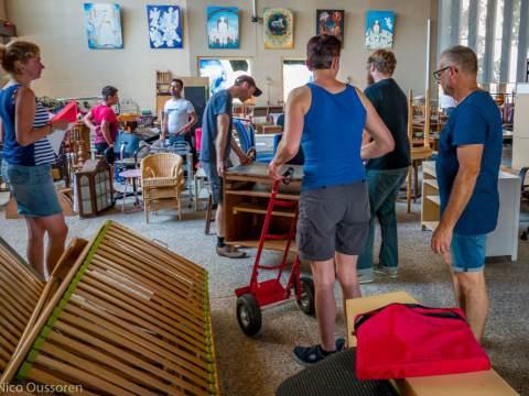 Grote ophaaldag Rommelmarkt Opstandingskerk