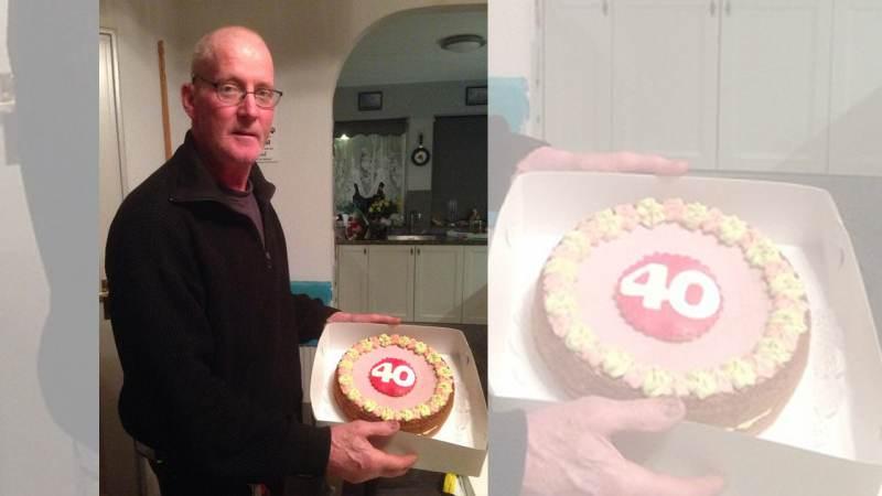 Klaas Uithuisje 40 jaar vrijwillig brandweerman