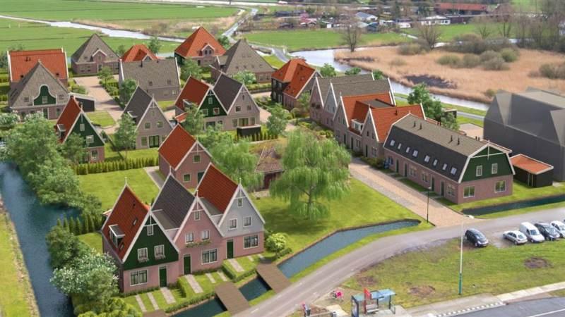 Bouw 25 koopwoningen en 13 sociale huurwoningen in Watergang van start