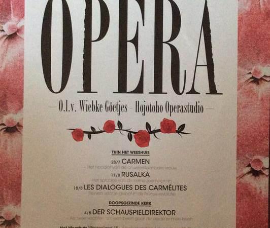 Zomer Opera verplaatst naar de Grote Kerk