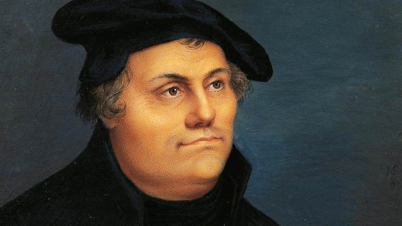 Rieks Hoogenkamp: de lichte Luther