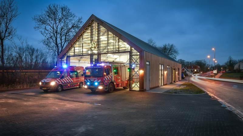Stroom van de brandweer