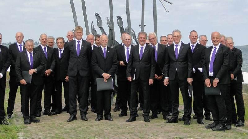 Jubileumconcert ter ere van 45 jaar Marker Mannenkoor