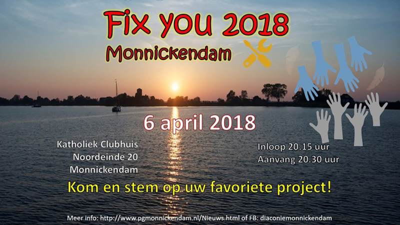 Finale 'Fix You'-project Monnickendam