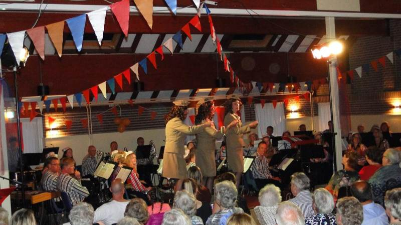 Concert 'Juliana' in teken van vrijheid & donateurs