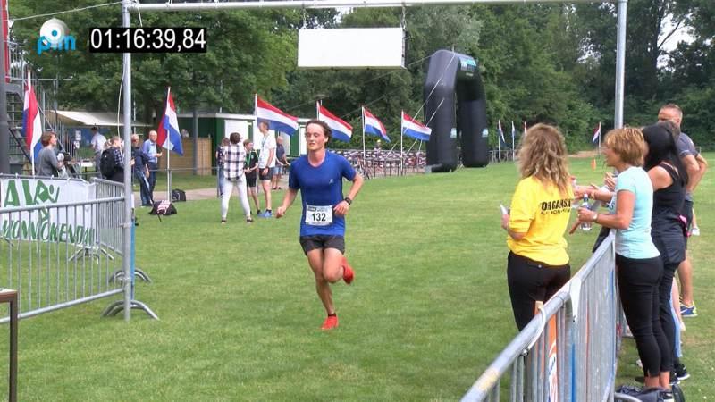 Diederick Calkoen winnaar Waterland halve marathon