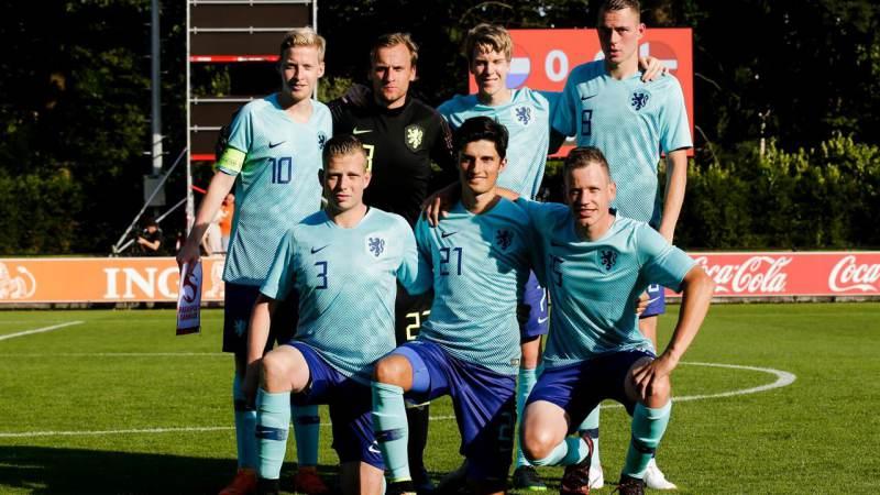 Nederlands CP-elftal boekt monsterzege op Denemarken