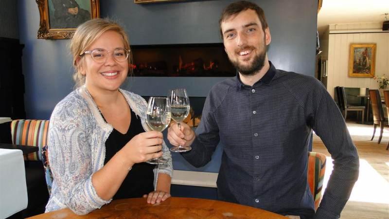 Yannic & Sarah nieuwe eigenaren van 'Hof van Marken'