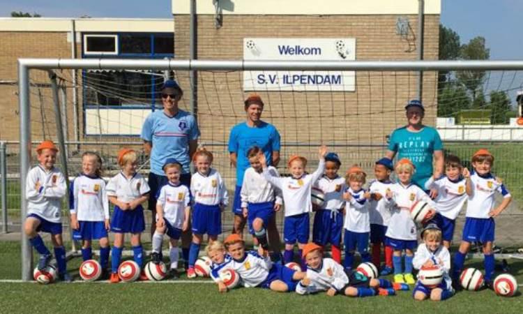 Open dag Kaboutervoetbal bij SV Ilpendam