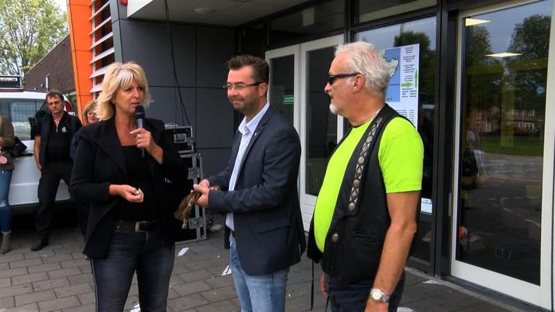 Motortocht voor Stichting Haarwensen levert 1615 euro op