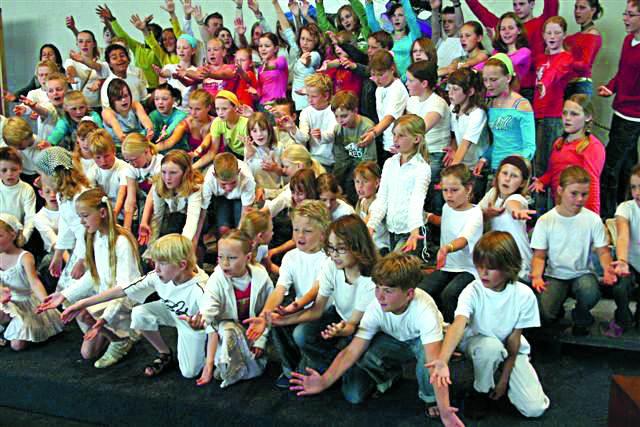 Muziekschool Waterland start met Kinderkoor New Kickers