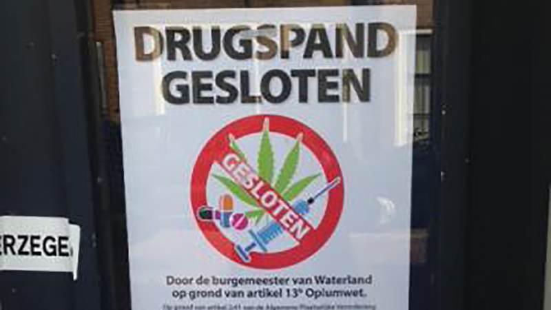 Burgemeester sluit panden Noordeinde Monnickendam vanwege drugsvondst