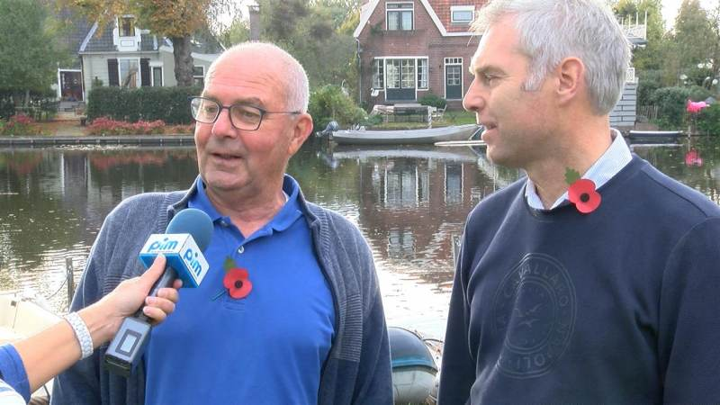 Remembrance Day 2018 - Broek in Waterland in de oorlog