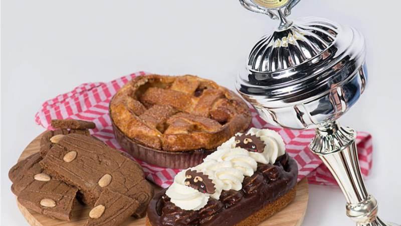 Bakkerij Kees Gutter driemaal in de prijzen met lekkernijen
