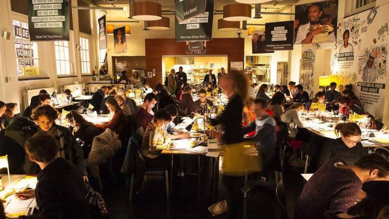 Amnesty's Schrijfmarathon in Monnickendam