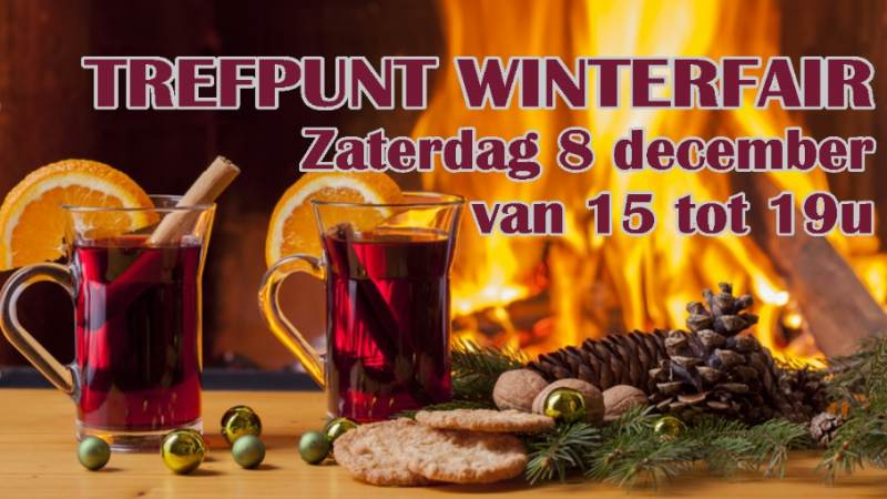 Za 8 december: Winterfair in Het Trefpunt Marken