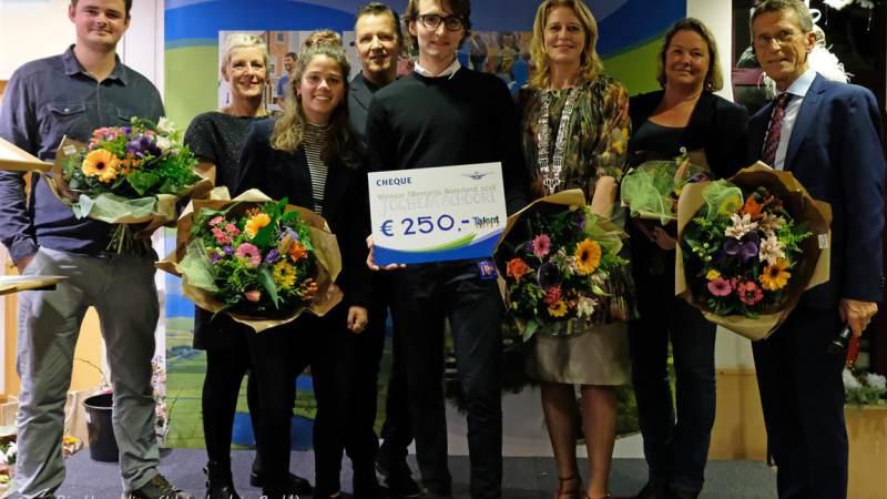 Jochem Schoorl winnaar Waterlandse Talentprijs