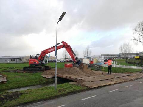 Start voorbereidingen nieuwe gemeentewerf Katwoude