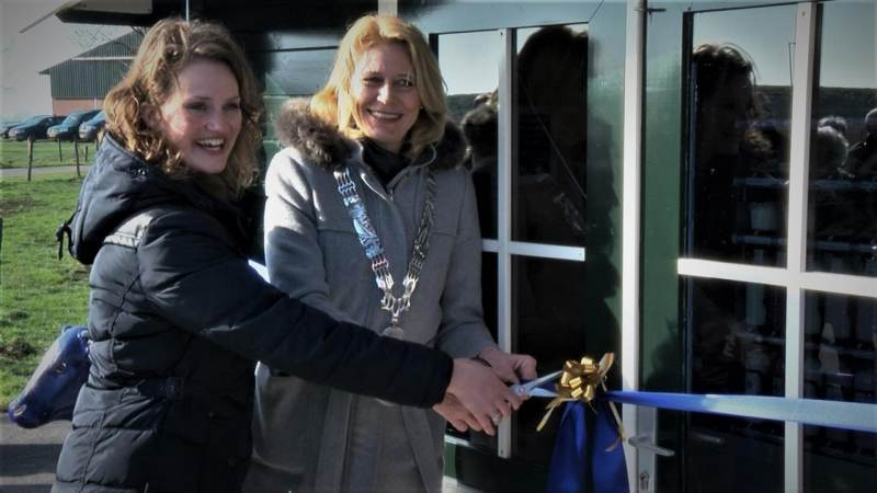 Officiele opening van 't Zuivelhuisje in Katwoude