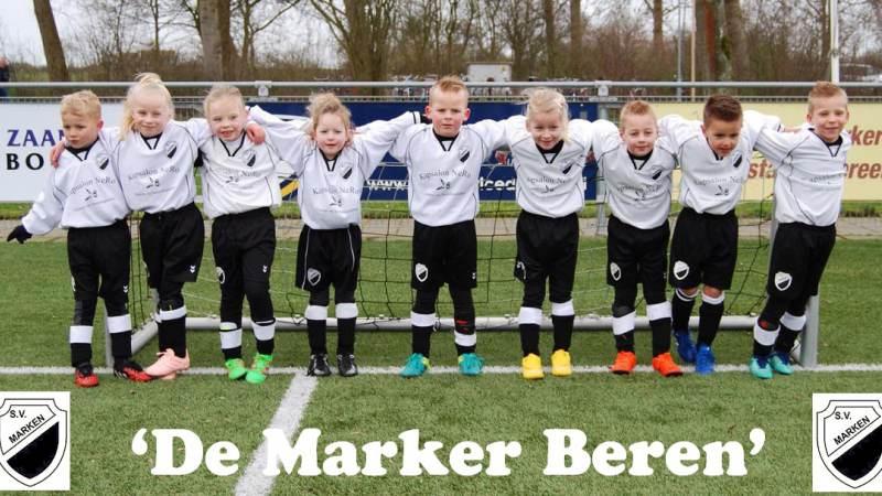 'De Marker Beren' hebben hun eerste wedstrijd gespeeld