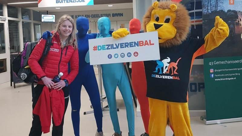 Eva Schipper achtste bij 'De Zilveren Bal'
