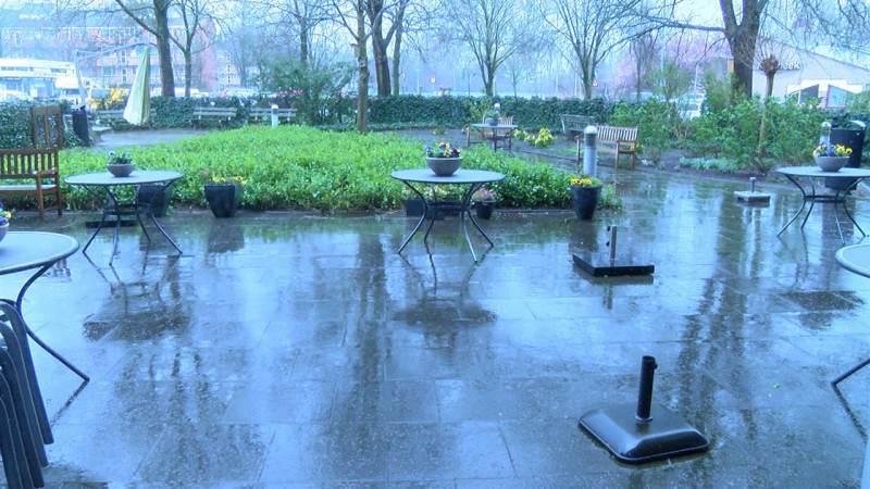 Tuin Swaensborch tijdens NLDoet weer prachtig ingericht