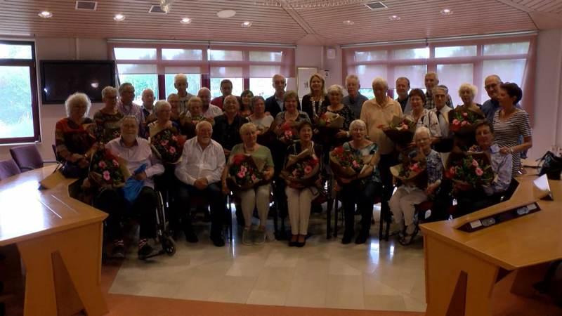 50 jaar gehuwden in het zonnetje in Waterland