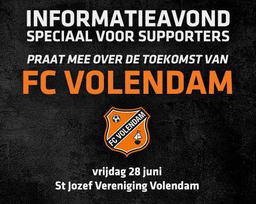 FC Volendam organiseert informatieavond voor supporters