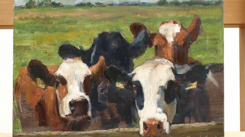 Schilder je eigen koe in de Broeker Kerk