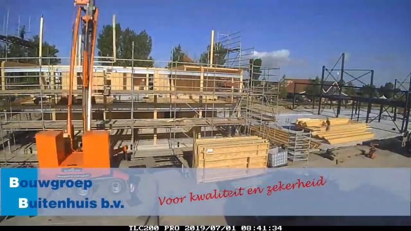 Hoogste punt bereikt bouw nieuwe gemeentewerf