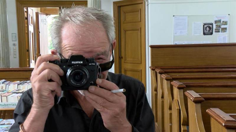 Start fototentoonstelling C. Barton van Flymen in Catharinakerk