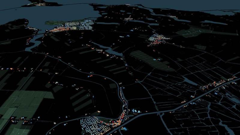 Alle huizen in Waterland in 3D met bouwjaar te bekijken