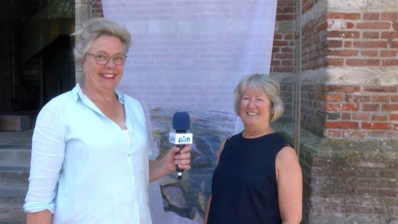 Start expositie Saskia Visser en Suzanne Compaan in toren Grote Kerk