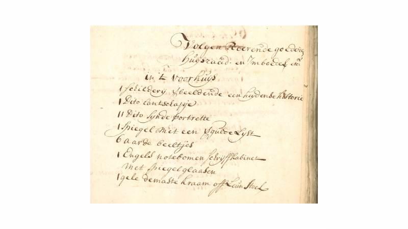 Cursus Oud Schrift voor beginners bij Waterlands Archief