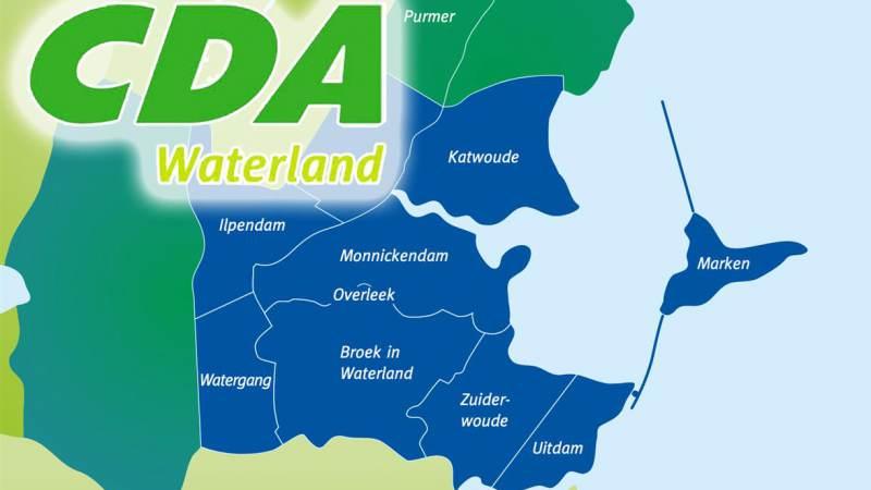 CDA Waterland kiest voor zelfstandigheid
