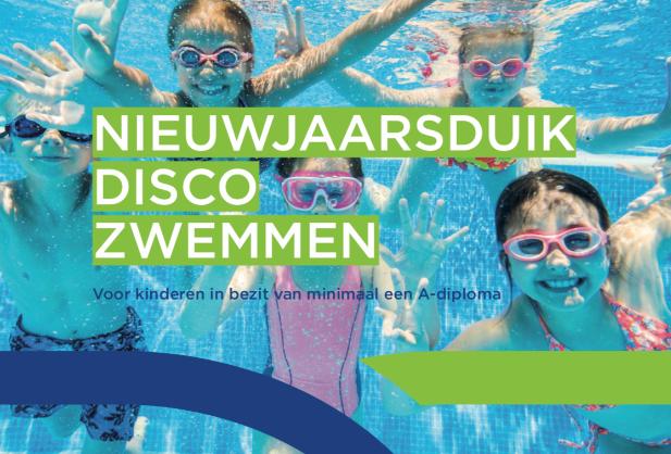 Nieuwjaarsduik discozwemmen