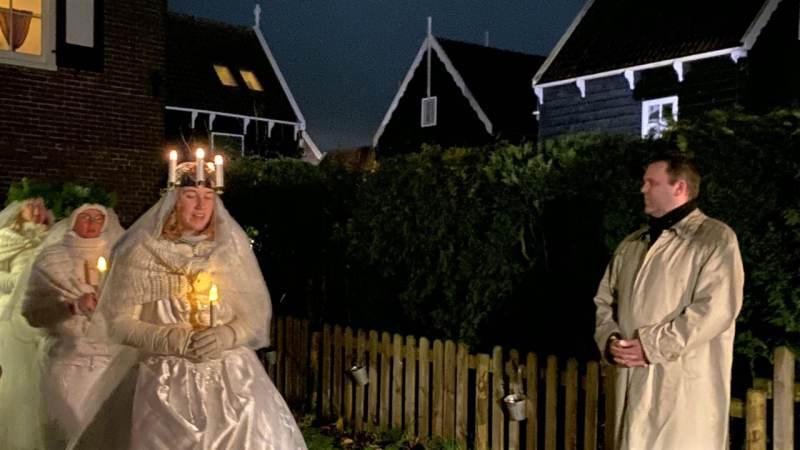 't Voetlicht brengt muzikale theatrale wandeling op Marken