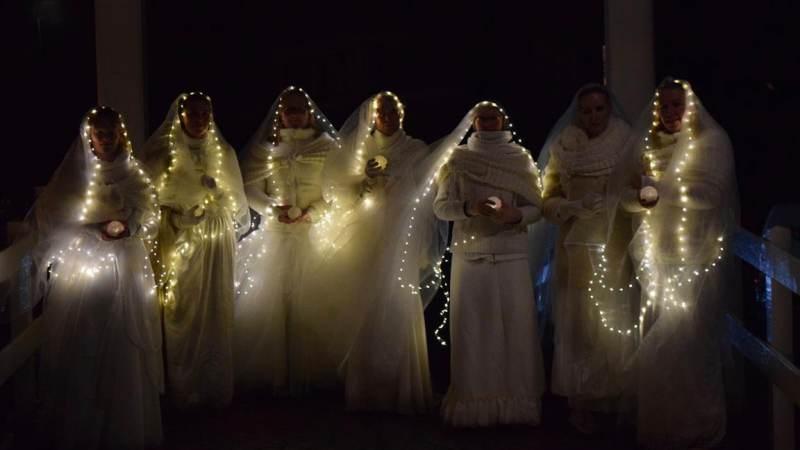 't Voetlicht bracht tien uitverkochte sfeervolle lichtwandelingen