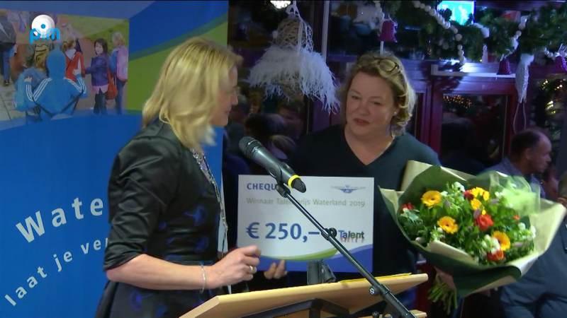 Philine van de Vegte winnaar Waterlandse Talentprijs