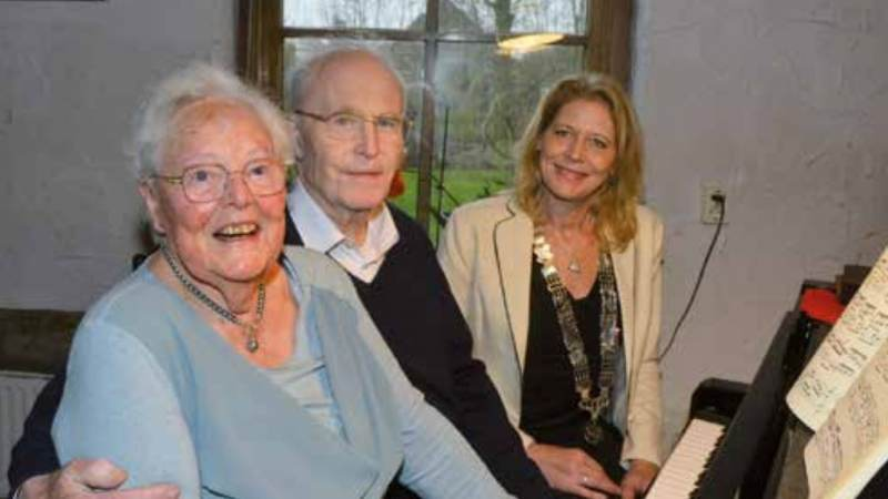 Echtpaar Jongejans vijfenzestig jaar getrouwd
