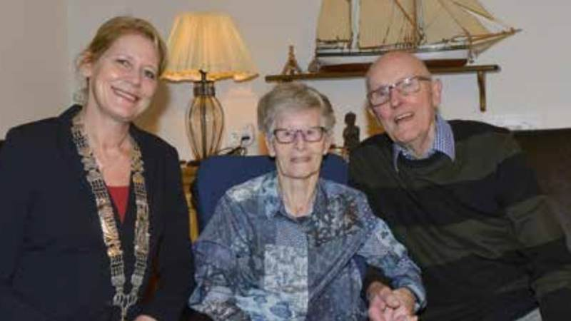Echtpaar Koolmees 60 jaar getrouwd