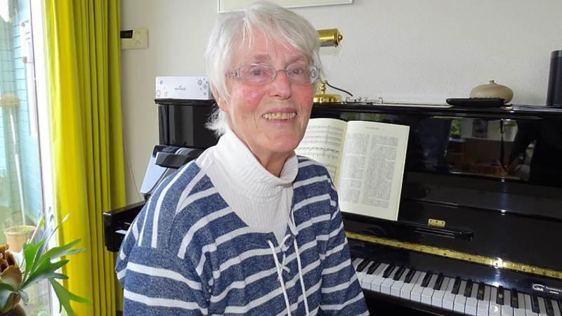 Nynke Zetzema vijftig jaar lid van Marcantat