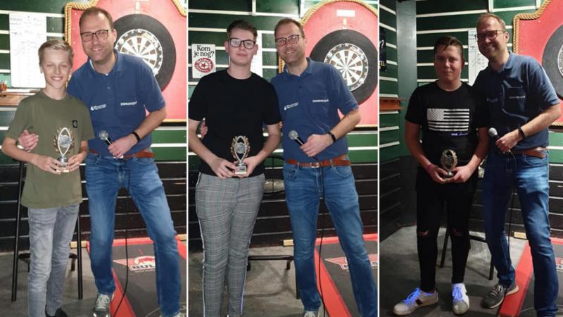 Joran Gerritsen wint Jeugd Dart Toernooi op Marken